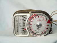 Weston  Master V Vintage Light Meter Cased -Nice-
